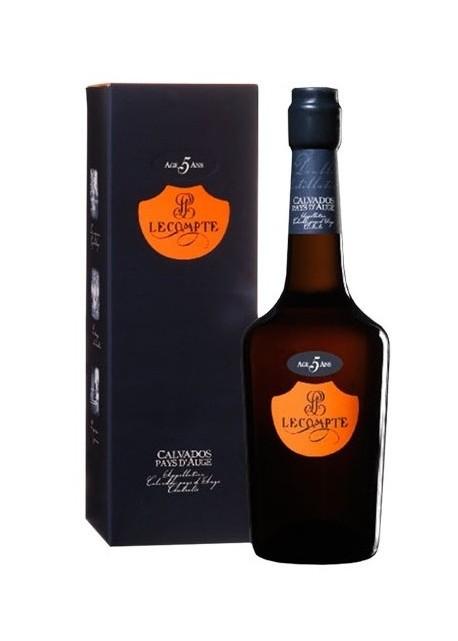 Calvados Lecompte 5 anni 0,70 lt.