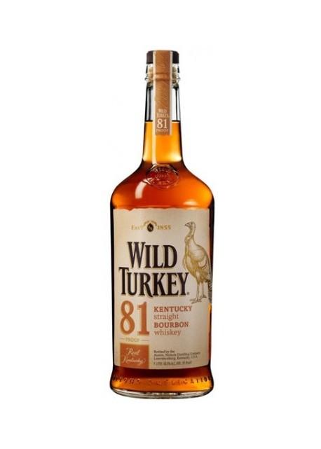 Whisky Wild Turkey 81 Proof 0,75 lt.