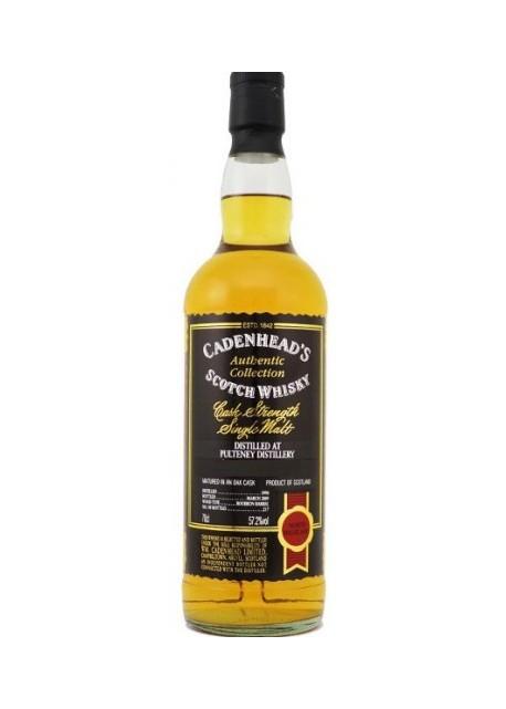 Whisky Cadenhead's 12 anni 1990 Pulteney Distillery 0,70 lt.