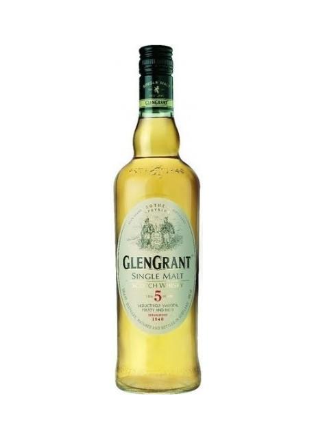 Whisky Glen Grant Single Malt 5 anni 0,70 lt.