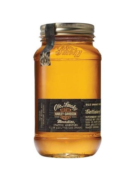 Whisky Moonshine Ole Smoky Harley Davidson 0,70 lt.