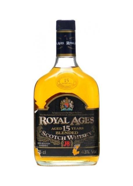 Whisky Royal Ages 15 Anni J&B 0,75 lt.