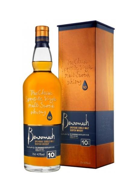 Whisky Benromach Single Malt 10 Anni 0,70 lt.