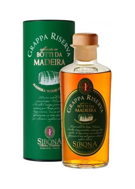 Grappa Botti da Madeira Riserva Sibona 0,50 lt.