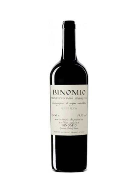 Montepulciano d'Abruzzo Binomio Riserva 2016 Magnum 1,50 lt.