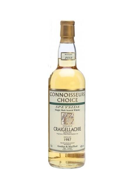 Whisky Connoisseurs Choice Craigellachie 1987 Gordon & Macphail 0,70 lt.