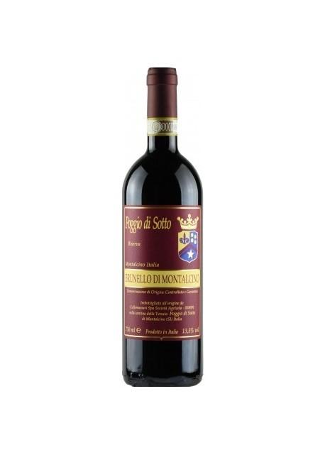 Brunello di Montalcino Poggio di Sotto Riserva 2010 0,75 lt.