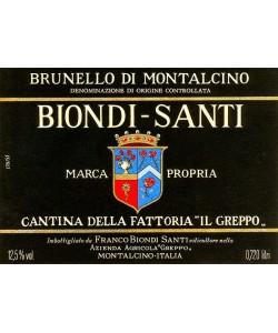 Brunello di Montalcino Biondi Santi Riserva 1955