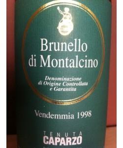 Brunello di Montalcino Caparzo 1998
