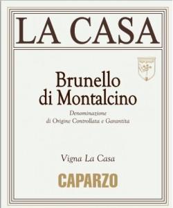 Brunello di Montalcino Caparzo Vigna La Casa 2010
