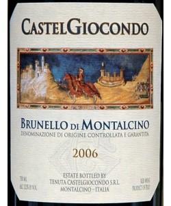 Brunello di Montalcino Frescobaldi Castelgiocondo 2006
