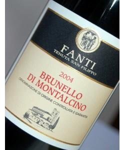 Brunello di Montalcino Fanti 2004