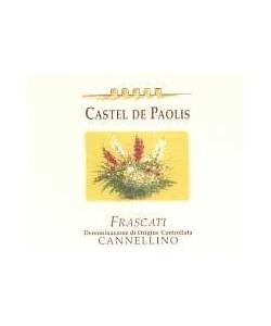 Frascati DOC Castel De Paolis Cannellino 2004