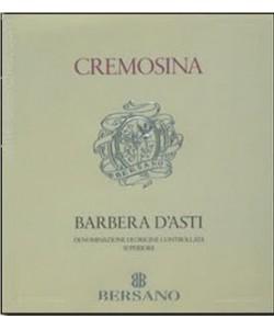 Barbera D'Asti DOCG Superiore Bersano Cremosina 2000
