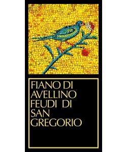 Etichetta Fiano di Avellino DOCG Feudi San Gregorio 2014