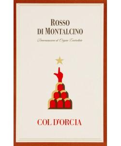 Etichetta Rosso di Montalcino DOC Col D'Orcia 2012