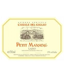 Etichetta Lazio IGT Casale Del Giglio Petit Manseng 2013