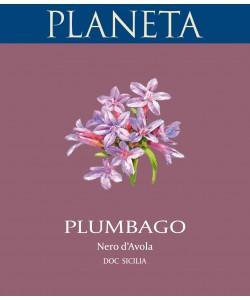 Etichetta Sicilia DOC Planeta Nero d'Avola Plumbago 2012