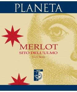 Etichetta Sicilia IGT Planeta Merlot 2009