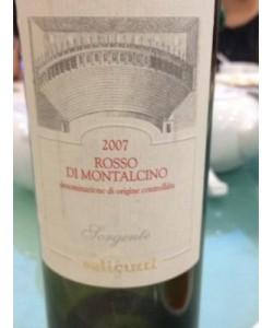 Rosso di Montalcino DOC Salicutti 2007