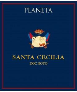 Etichetta Noto DOC Planeta Nero d'Avola Santa Cecilia 2008