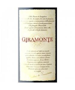 Etichetta Toscana IGT Marchesi De' Frescobaldi Giramonte 2004