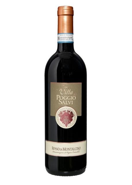 Rosso di Montalcino DOC Villa Poggio Salvi 2012