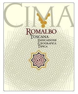 Etichetta Toscana IGT Cima Romalbo 2001