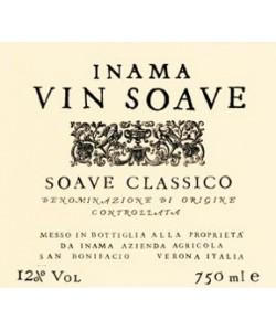 Etichetta Soave Classico DOC Inama Vin Soave 2014