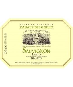 Etichetta Lazio Bianco IGT Casale del Giglio Sauvignon 2014