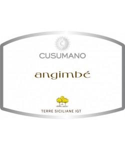 Etichetta Terre Siciliane IGT Cusumano Angimbé 2014