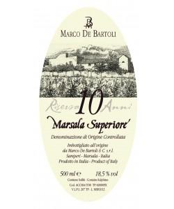 Marsala Superiore DOC Marco De Bartoli Riserva Oro 10 Anni Liquoroso