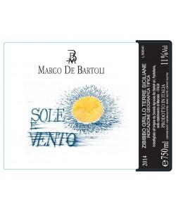 Terre Siciliane IGT Marco De Bartoli Sole e Vento 2014