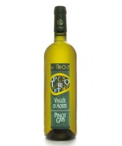 Valle d'Aosta DOC Lo Triolet Pinot Gris élevé en barriques 2013