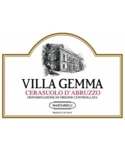Etichetta Cerasuolo D'Abruzzo DOC Masciarelli Villa Gemma 2014