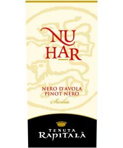 Etichetta Sicilia IGT Tenuta Rapitalà Nuhar Nero D'Avola Pinot Nero 2010