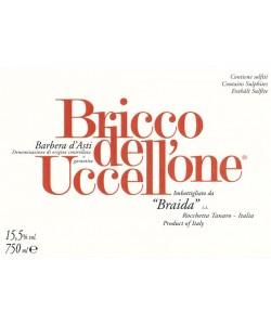 Etichetta Barbera d'Asti DOCG Braida Bricco dell'Uccellone 2013