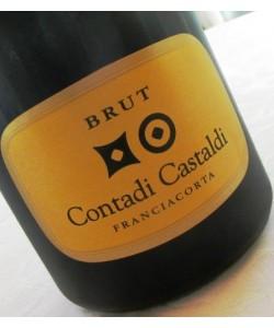 Etichetta Franciacorta DOCG Contadi Castaldi Brut