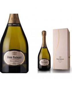 Etichetta e Astuccio Champagne Dom Ruinart Blanc de Blancs 2002