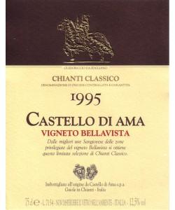 Chianti Classico DOCG Castello di Ama Vigneto Bellavista 1995