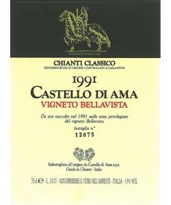 Chianti Classico DOCG Castello di Ama Vigneto Bellavista 1991