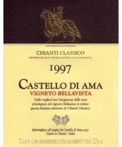 Chianti Classico DOCG Castello di Ama Vigneto Bellavista Magnum 1997