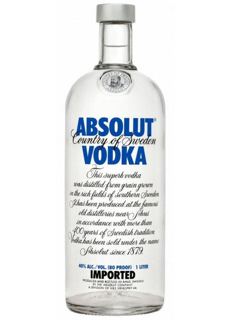 Vodka Absolut Blu