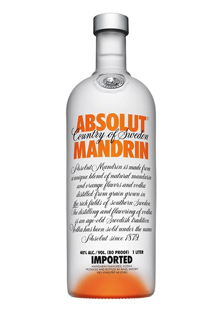 Vodka Absolut Mandarino (da 1 Lt)