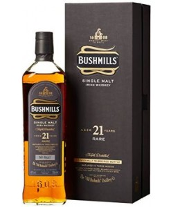 Whiskey Bushmills 21 Years Old Single Malt