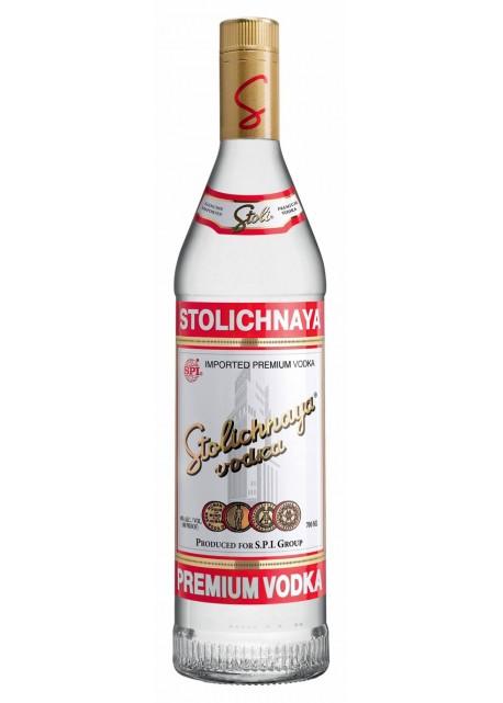 Vodka Stolichnaya Etichetta Rossa