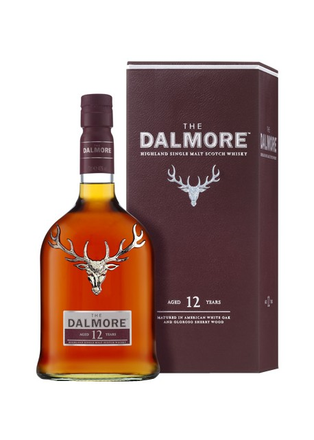 Scotch Whisky The Dalmore 12 Years Old Single Malt