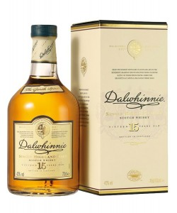 Scotch Whisky Dalwhinnie 15 Years Old Single Malt
