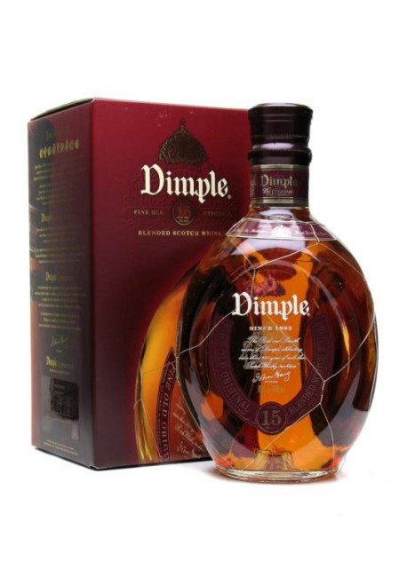 Scotch Whisky Dimple 15 Years Old Blended