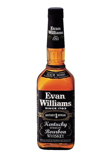 Whiskey Evan Williams Extra Bourbon